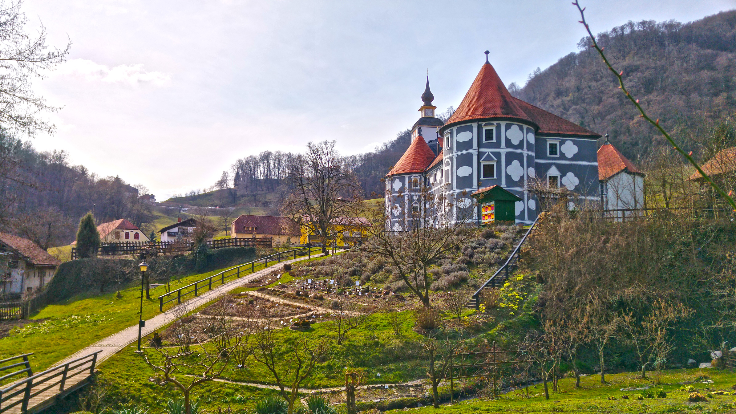 Wine, castles and chocolate in Slovenia!